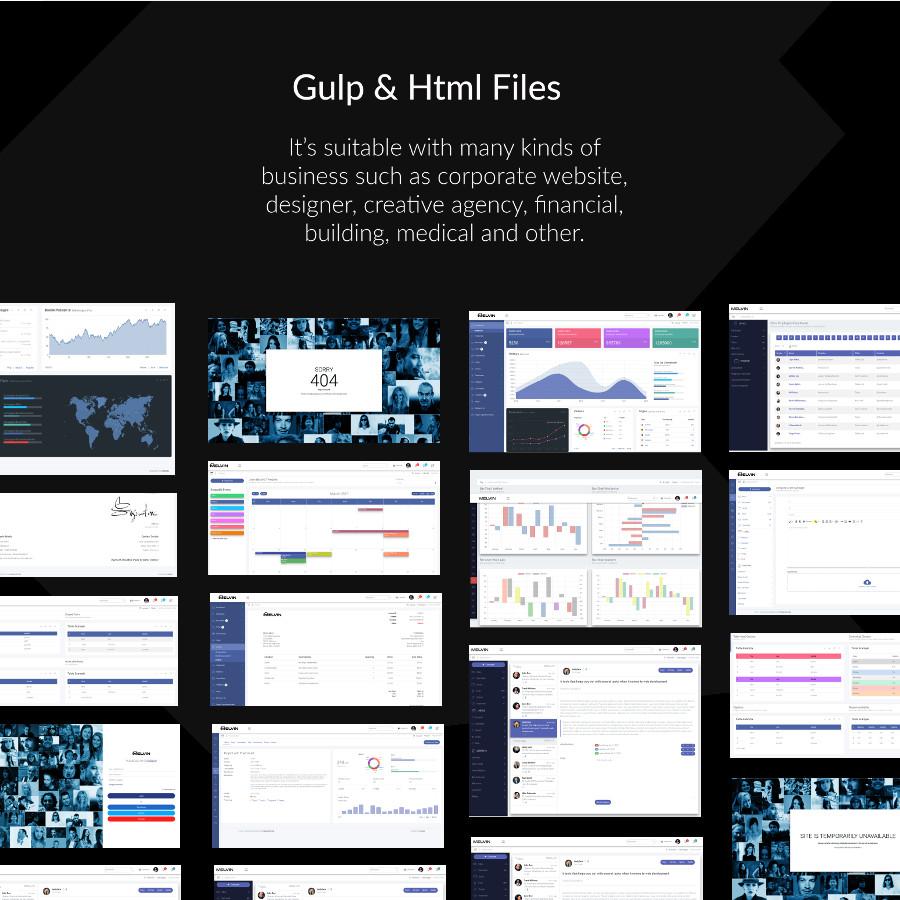 admin template screen presentation